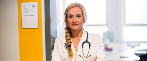 Dr. Esther Goldberg, Initiatorin der Spendenaktion COVIDDEFENSE