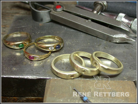 Bandring Umarbeitung in 585 Gelbgold