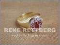 Damen Siegelring Gold 333, 585 und 750
