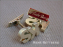 Manschettenknöpfe mit Initialen aus unserem Goldschmiede Atelier