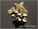 18 Karat Gold Manschettenknöpfe