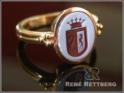 roemische Wappenringe-mit ritem Lagenstein