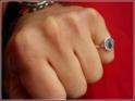 10x8,5 mm oval, römische Ringform