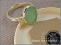 roemischer Wappenring-mit grüner Jade