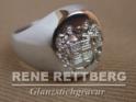Sterling Silber 925 Siegelring