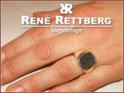antik 13x10,5mm mit breiter Ringform