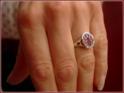 12x10 mm oval mit stark taillierter Ringform