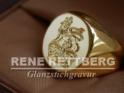 klassischer ovaler Siegelring