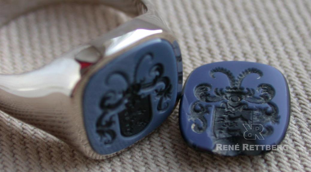 Wir reparieren Ihren Siegelring oder Wappenring