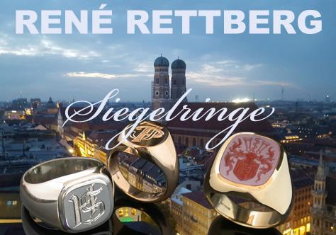 ATELIER RETTBERG für München Siegelring Hersteller, Wappenringhersteller